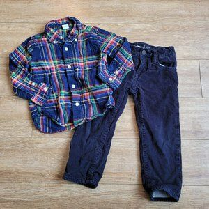 Gap Button Down and Cords